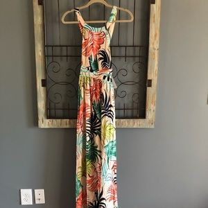 Red Dress Boutique Palm Leaf Print Dress